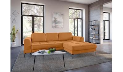 sit&more Ecksofa »Bendigo V«, inklusive Sitztiefenverstellung, Bodenfreiheit 15 cm,... kaufen