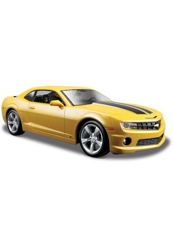 Maisto® Sammlerauto »Chevrolet Camaro SS RS9, 1:24, gelb«, 1:24, aus Metallspritzguss kaufen