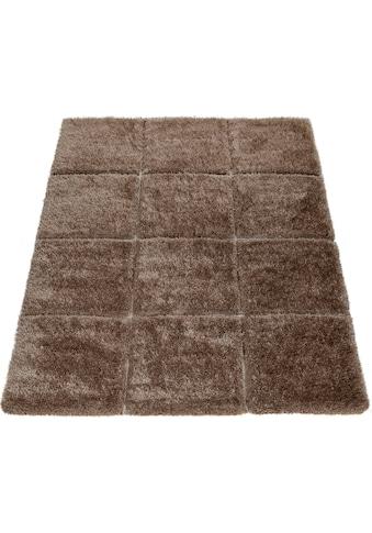 Hochflor - Teppich, »Palma 336«, Paco Home, rechteckig, Höhe 45 mm, maschinell gewebt kaufen