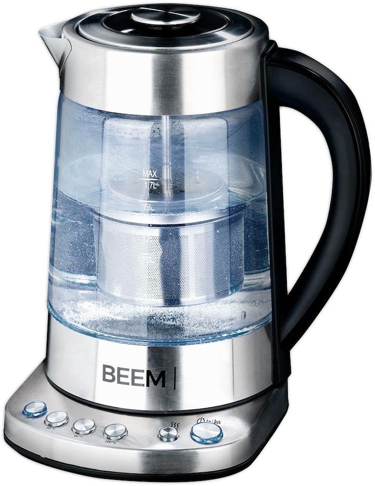 beem wasserkocher teatime 1 7 liter 2000 watt auf. Black Bedroom Furniture Sets. Home Design Ideas