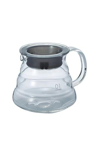 Hario Kaffeekanne »V60 Servierkännchen XGS aus Borosilikatglas«, 0,36 l, Passend zu... kaufen