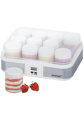 Steba Joghurtbereiter »JM 2«, 12 Portionsbehälter, je 200 ml kaufen