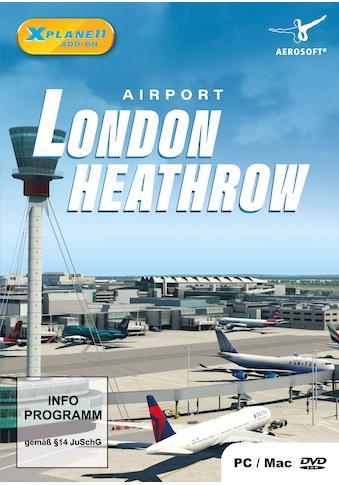 aerosoft Spiel »XPlane 11 AddOn Airport London Heathrow«, PC kaufen