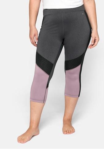 Sheego Sporthose, atmungsaktiv und schnelltrocknend kaufen