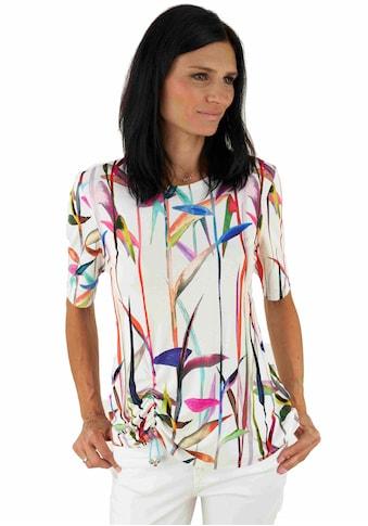 Seidel Moden Print-Shirt, mit Rundhals und Halbarm, Made in Germany kaufen