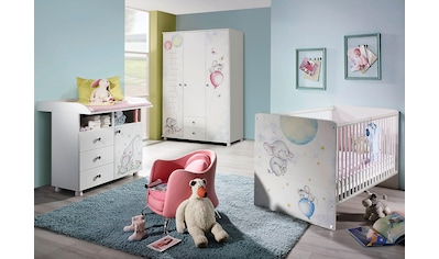 Babyzimmer-Komplettset »Vancouver«, (Set, 3 tlg.), Bett + Wickelkommode + 3 trg. Schrank kaufen