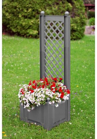 KHW Spalier mit Pflanzkasten, BxTxH: 43x43x140 cm kaufen