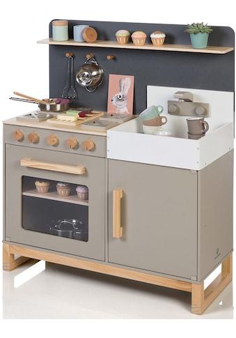 """MUSTERKIND® Spielküche """"Linum, warmgrau/natur"""", Holz kaufen"""