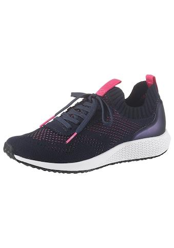 Tamaris Slip-On Sneaker »Fashletics«, in modischer Strick-Optik kaufen