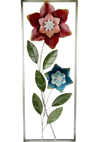 I.GE.A. Wanddekoobjekt »Wandbild Blumen« kaufen