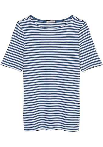 Marc O'Polo Kurzarmshirt, mit lässigem U-Boot-Ausschnitt kaufen