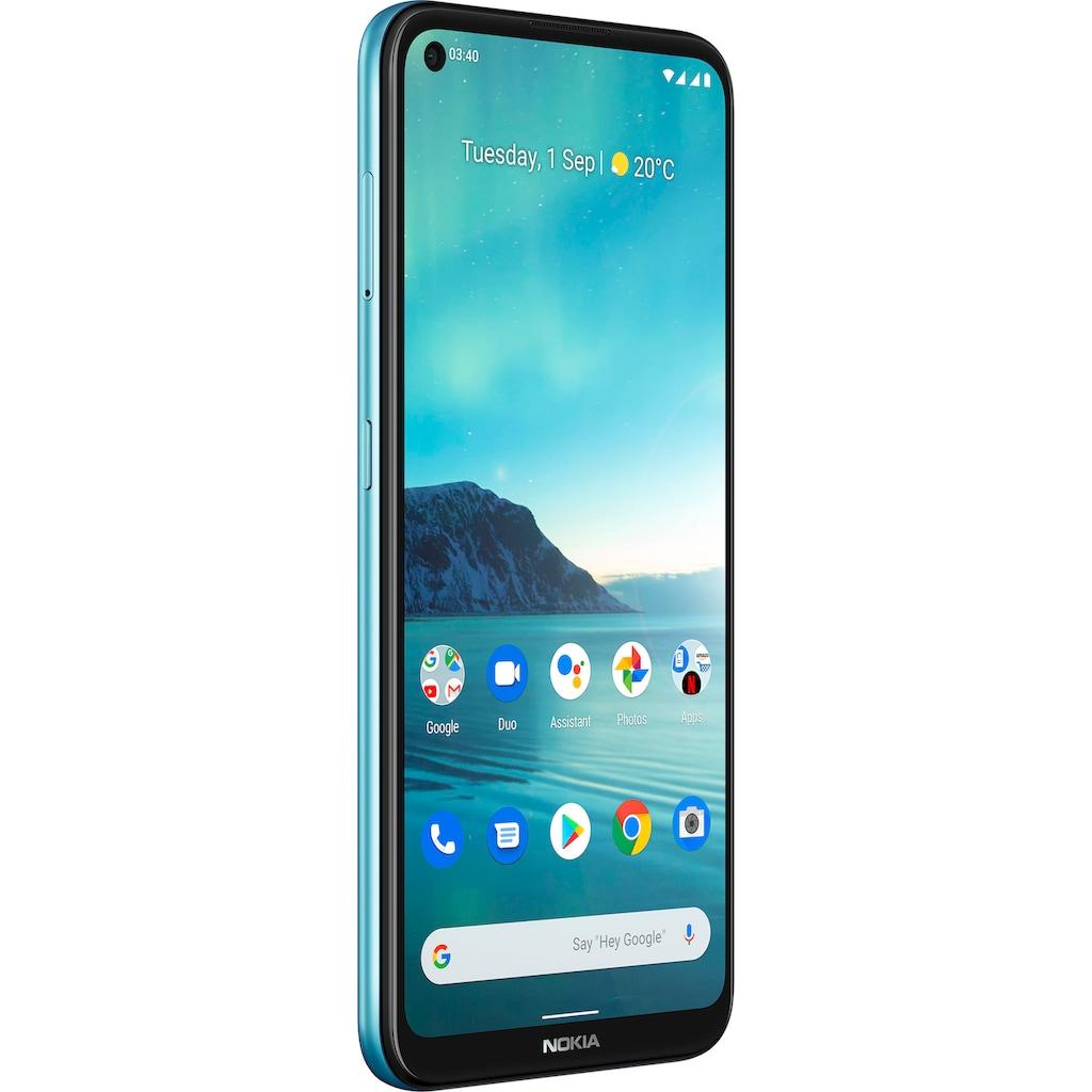 "Nokia Smartphone »3,4«, (16,23 cm/6,39 "", 64 GB Speicherplatz, 13 MP Kamera)"