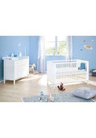 Pinolino® Babymöbel-Set »Skadi«, (Spar-Set, 2 St.), breit, mit Kinderbett und... kaufen