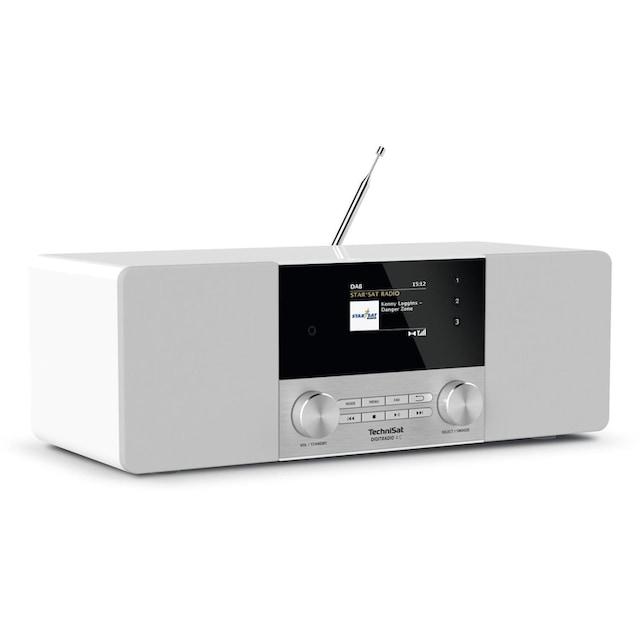 TechniSat DAB+ Digitalradio, UKW, Bluetooth, Farbdisplay, AUX, Radiowecker »DIGITRADIO 4 C«