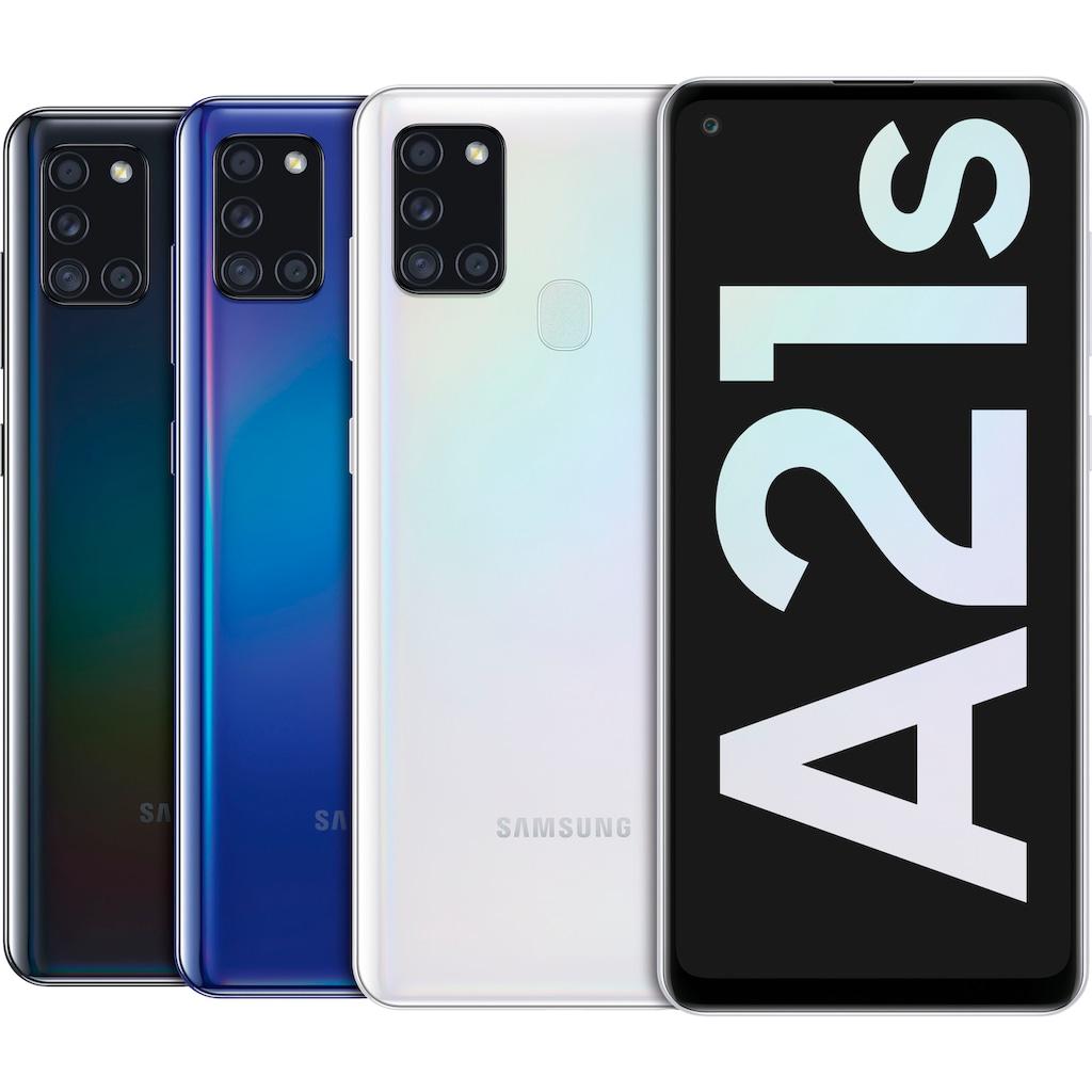 "Samsung Smartphone »Galaxy A21s«, (16,63 cm/6,5 "" 32 GB Speicherplatz, 48 MP Kamera)"
