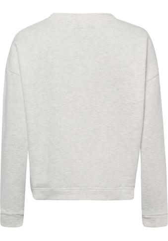 Freeman T. Porter Sweatshirt, Logostickerei in Frottee-Optik kaufen