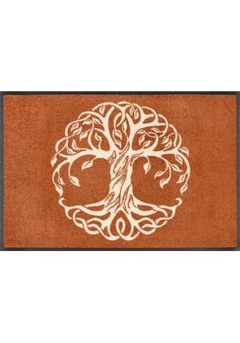 wash+dry by Kleen-Tex Fußmatte »Tree of Life«, rechteckig, 7 mm Höhe,... kaufen