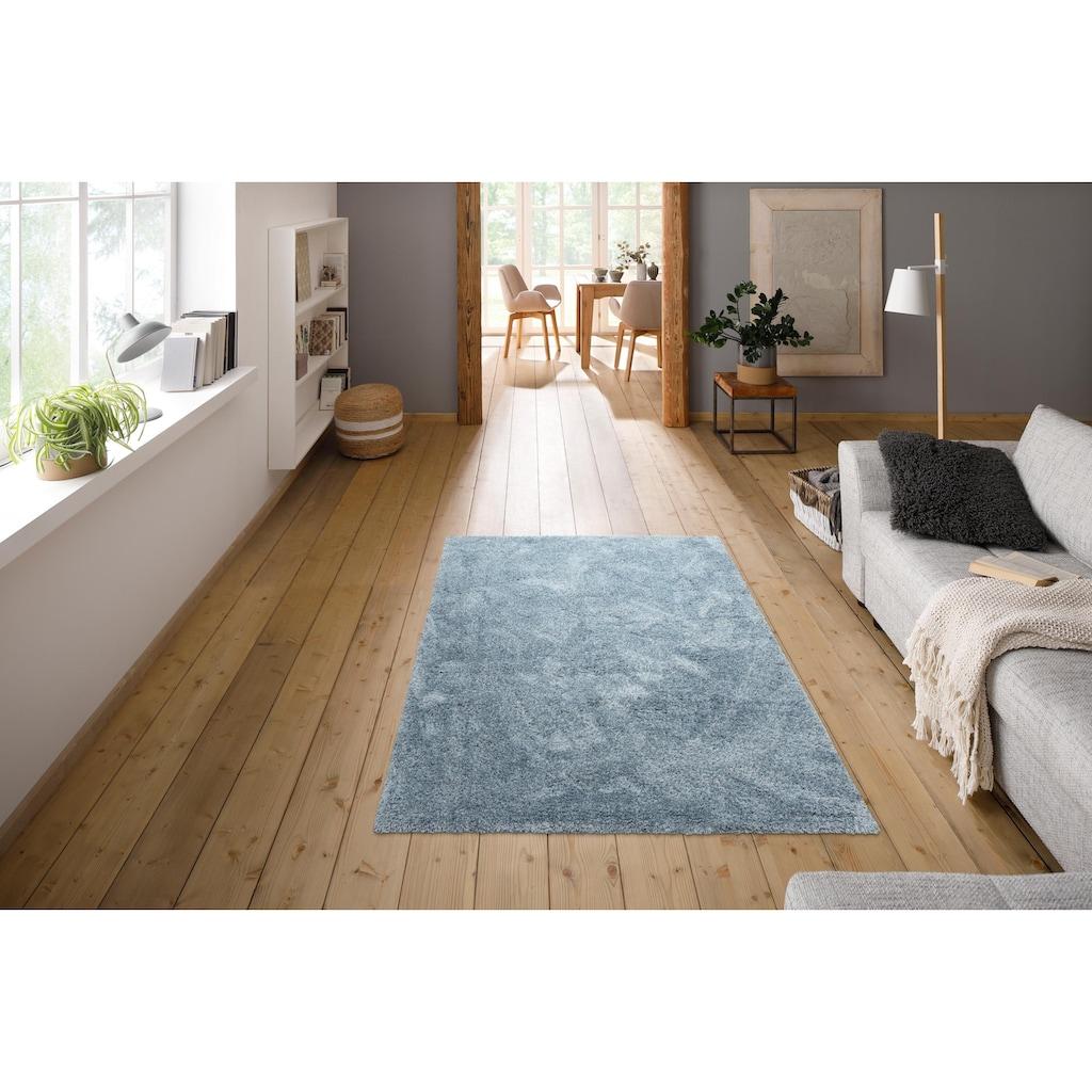 andas Hochflor-Teppich »Menka«, rechteckig, 30 mm Höhe