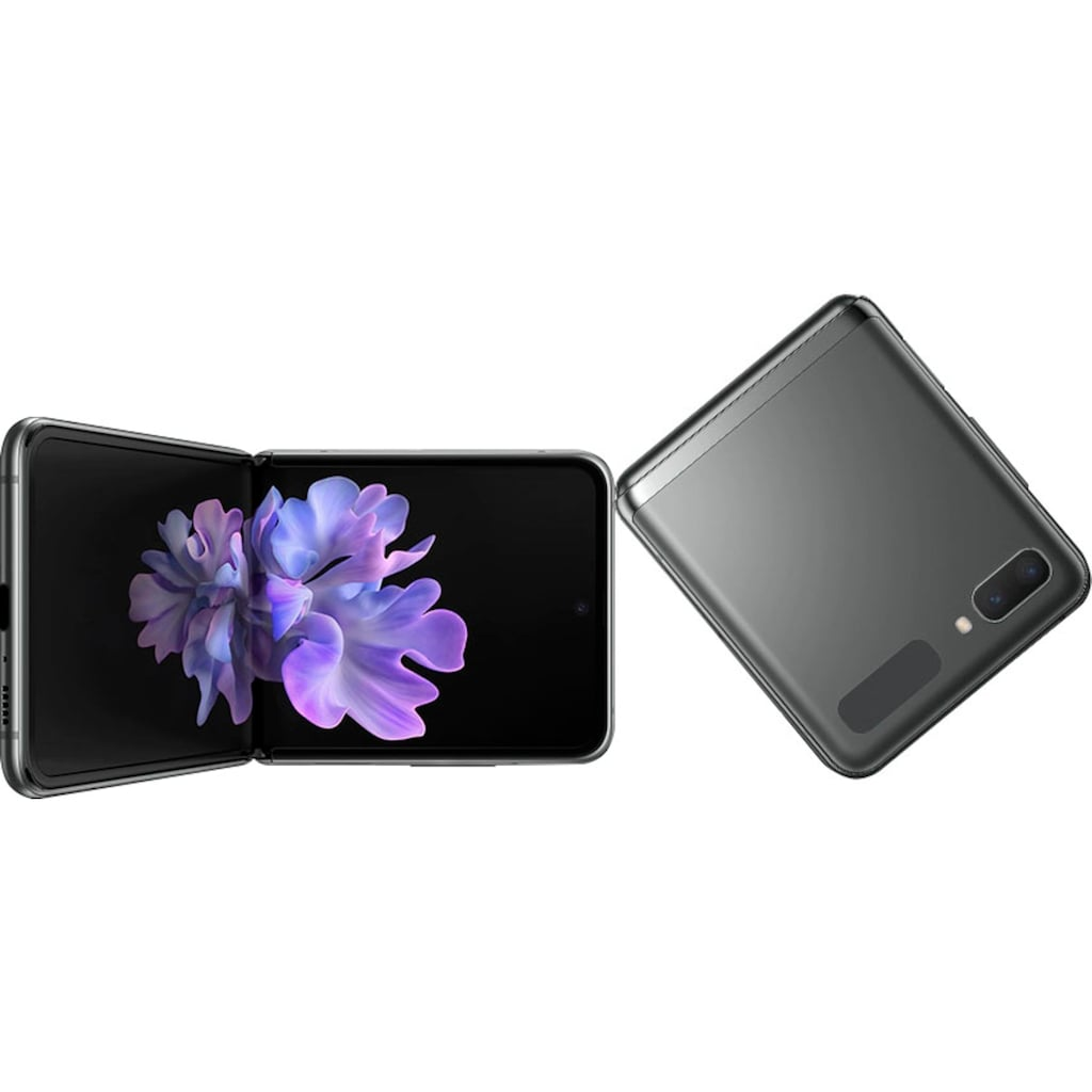 "Samsung Smartphone »Galaxy Z Flip 5G«, (17,01 cm/6,7 "" 256 GB Speicherplatz, 12 MP Kamera)"