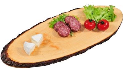 KESPER for kitchen & home Servierbrett, aus einer Baumscheibe gefertigt kaufen