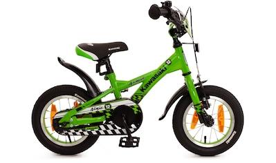 """Bachtenkirch Mountainbike »12,5"""" Kinderfahrrad """"KAWASAKI  -  Ninja"""", grün/schwarz«, 1 Gang kaufen"""