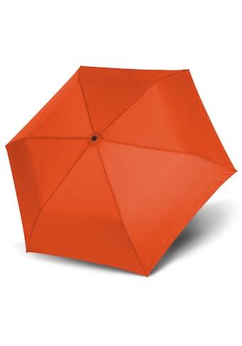 doppler® Taschenregenschirm »Zero 99 uni, Vibrant Orange« kaufen