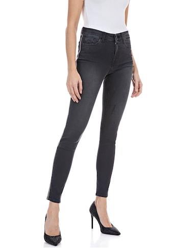 Replay Skinny-fit-Jeans »Luzien«, Power Stretch Sateen mit Gallonstreifen kaufen