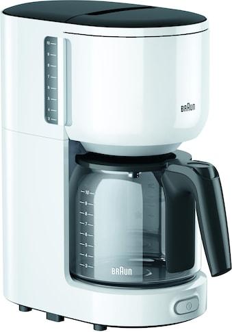 Braun Filterkaffeemaschine »KF 3120 WH«, Papierfilter, 1x4 kaufen