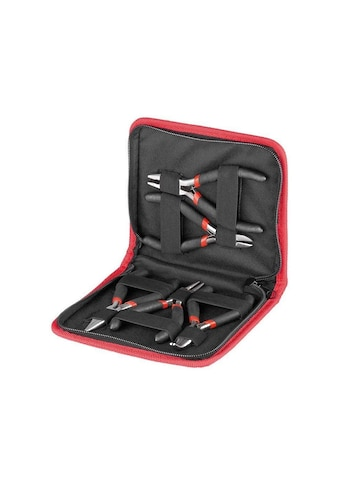 Goobay Flachzange »für den Elektriker und Elektroniker«, 5-teiliges Zangen-Set kaufen