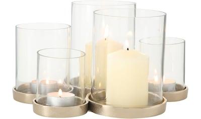 BOLTZE Windlicht »Myra«, aus Glas und Metall kaufen