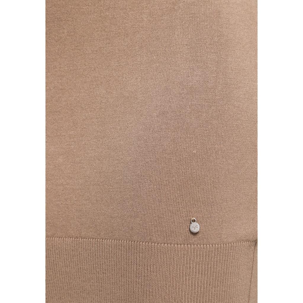 AJC Strickkleid, mit schönem Rollkragen