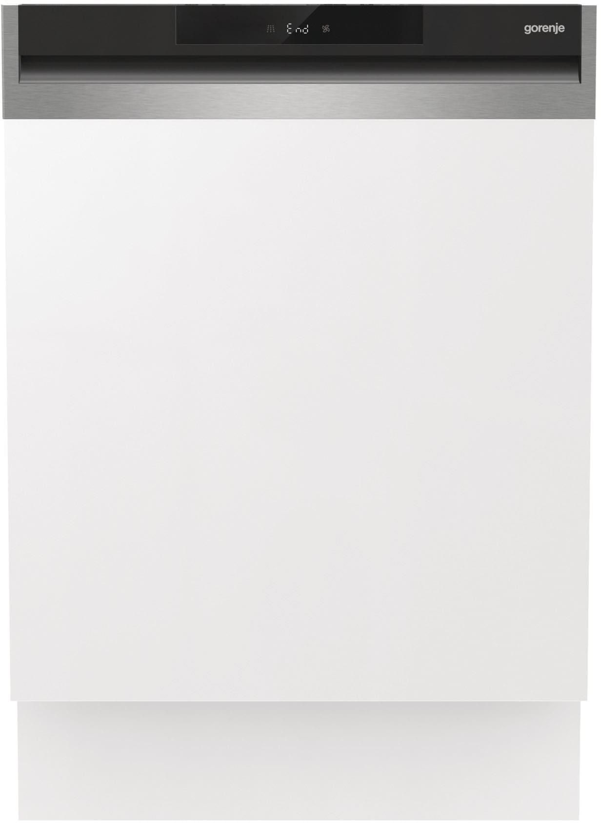 GORENJE teilintegrierbarer Geschirrspüler GI661C60X , GI661C60X, 16 Massgedecke