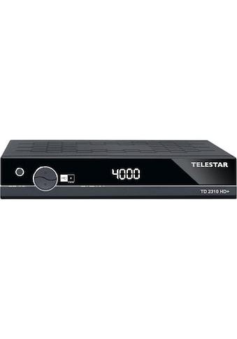 TELESTAR SAT-Receiver »TD 2310 HD+«, ( ), (HDMI,PVR Ready, USB 2.0, Scart) kaufen