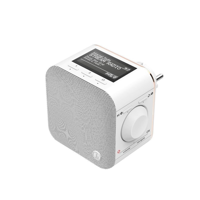 "Hama Internetradio ""IR40MBT-PlugIn"", Bluetooth®/Multiroom »App-Steuerung«"