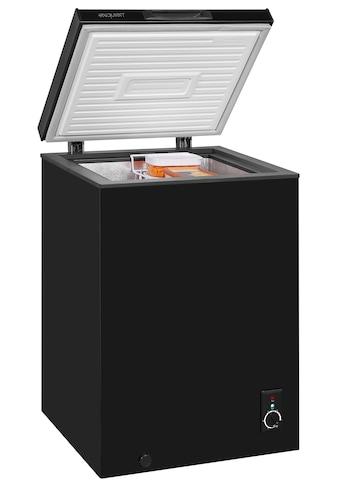 exquisit Gefriertruhe »GT100-050F schwarz« kaufen