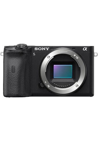 Sony Systemkamera »ILCE-6600B - Alpha 6600 E-Mount«, 24,2 MP, 4K Video, 180°... kaufen