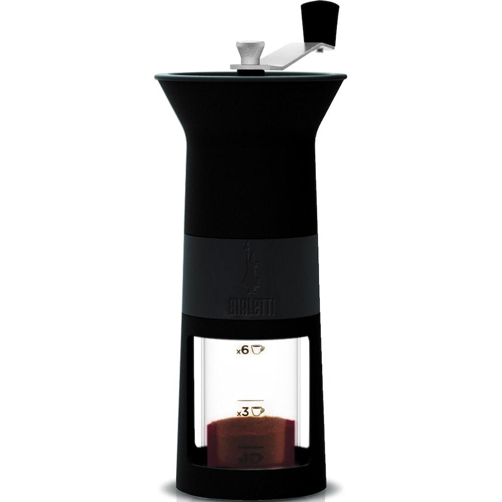 BIALETTI Kaffeemühle »Macinacaffè«, mit Messskala für 1, 3, 6 Tassen