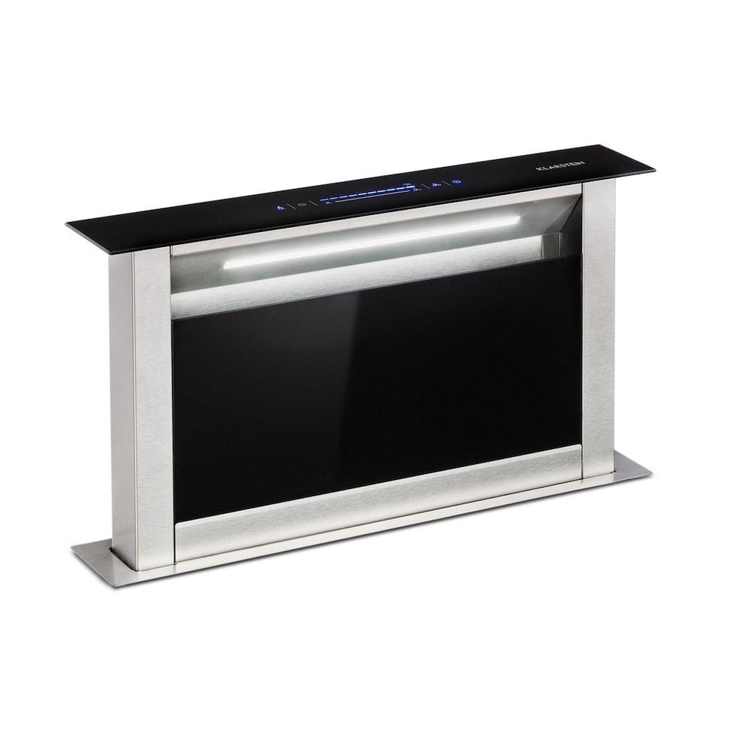 Klarstein Dunstabzugshaube 60 cm 458 m³/h A+ schwarz