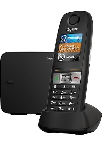 Gigaset Schnurloses DECT-Telefon »E630«, (Mobilteile: 1 ), Nachtmodis, Freisprechen kaufen