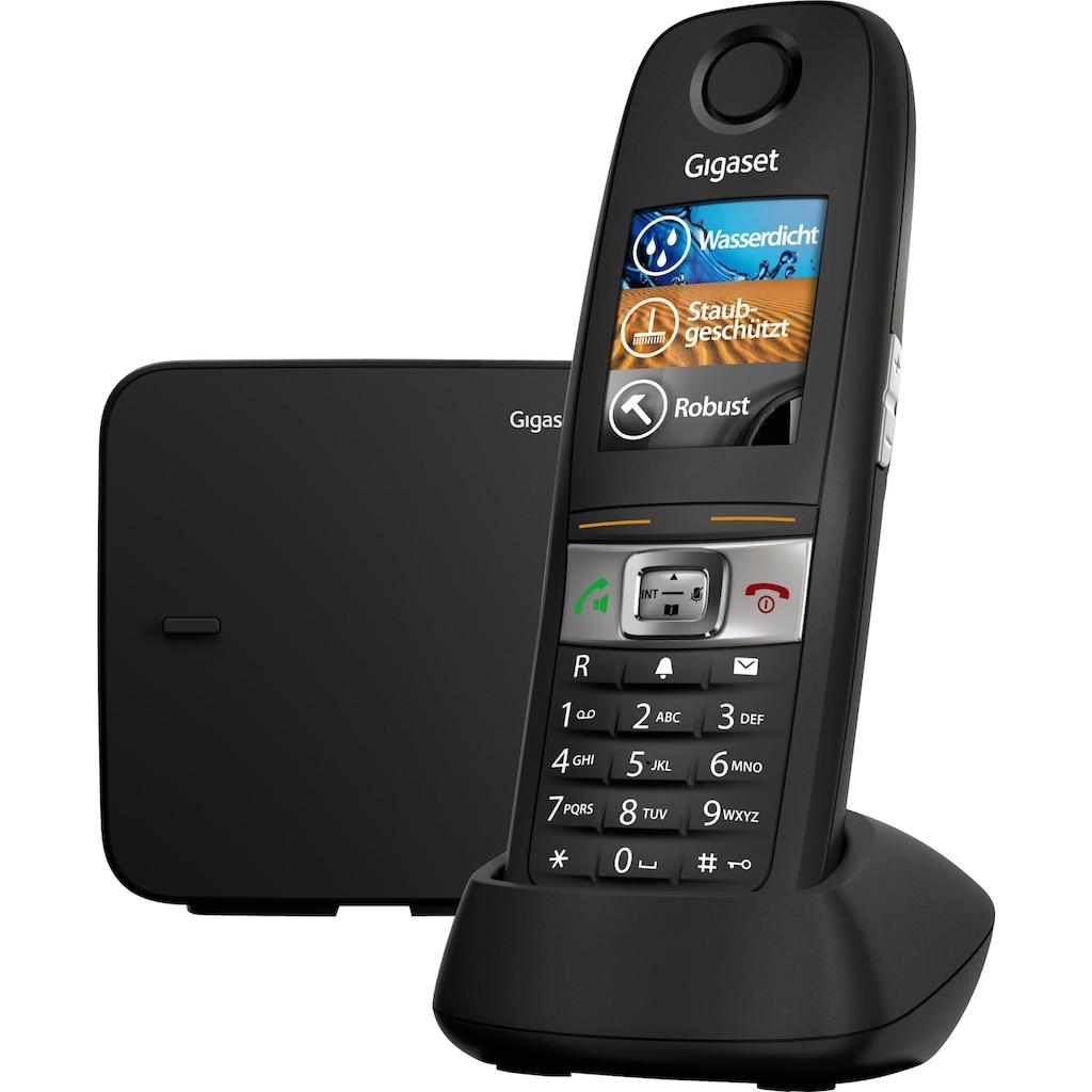 Gigaset Schnurloses DECT-Telefon »E630«, (Mobilteile: 1 ), Nachtmodis, Freisprechen
