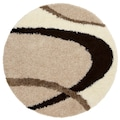 my home Hochflor-Teppich »Ankara«, rund, 52 mm Höhe, weicher Flor