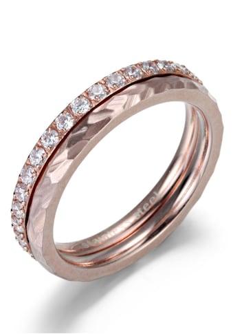 Firetti Ring-Set »4,0 mm, glänzend, matt, schlicht und zeitlos«, (Set, 2 tlg.), mit... kaufen