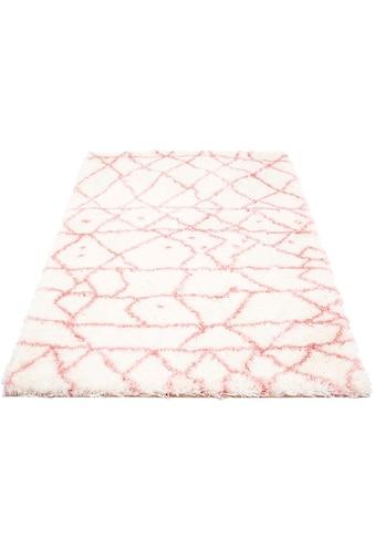 Hochflor - Teppich, »Peral 530«, Festival, rechteckig, Höhe 45 mm, maschinell gewebt kaufen