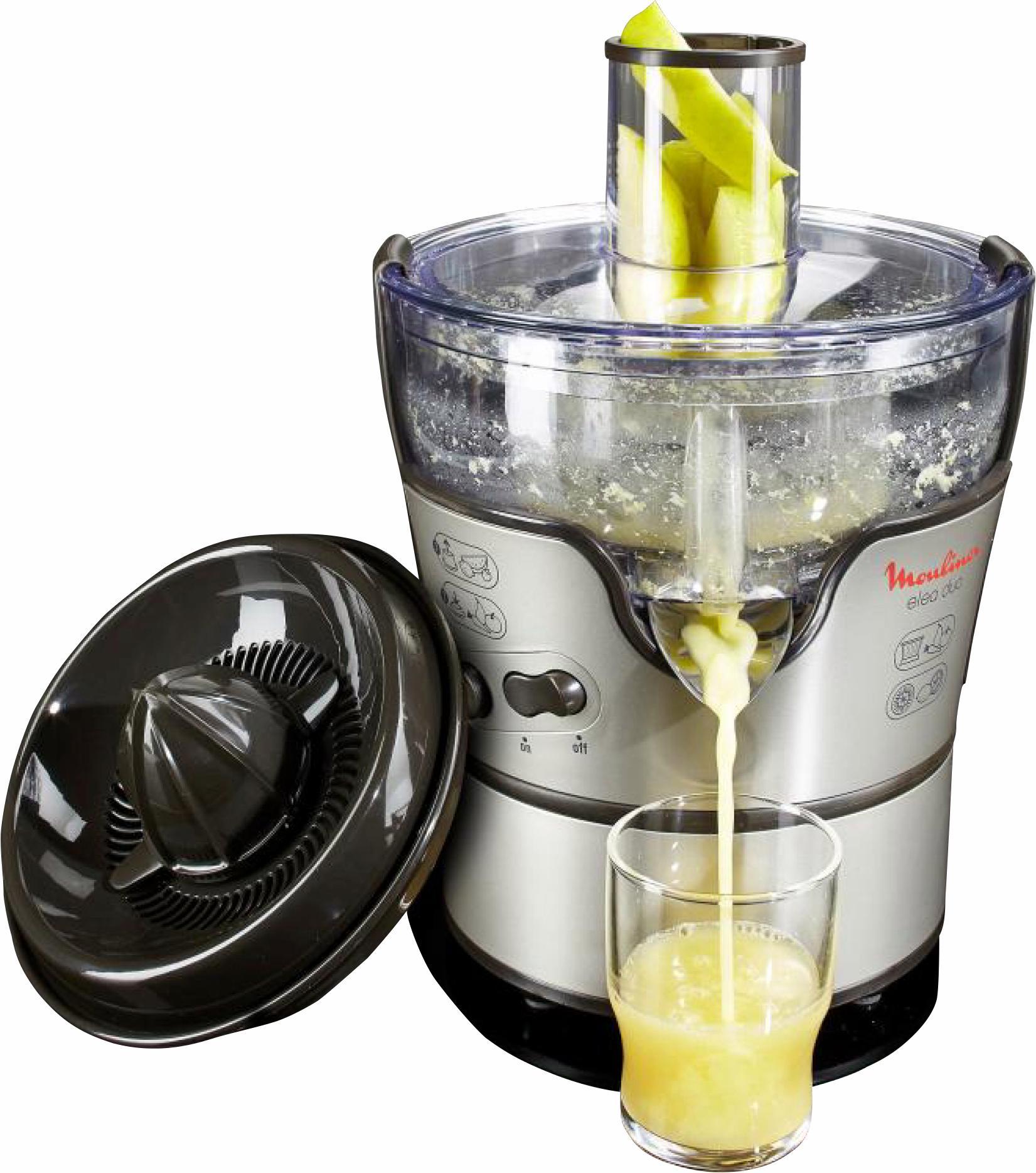 Moulinex Entsafter Elea Duo JU385H, 300 Watt | Küche und Esszimmer > Küchengeräte > Entsafter | Moulinex