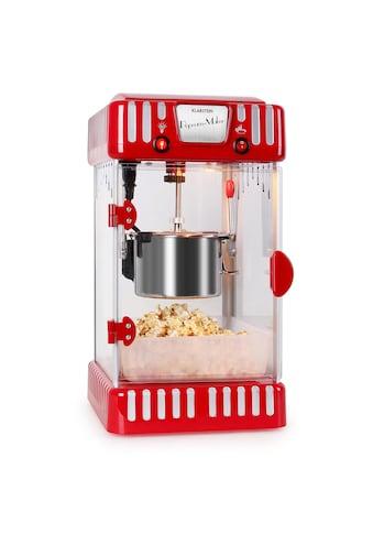 Klarstein Popcornmaschine Popcornmaker elektrisch Rührwerk Edelstahl-Topf kaufen