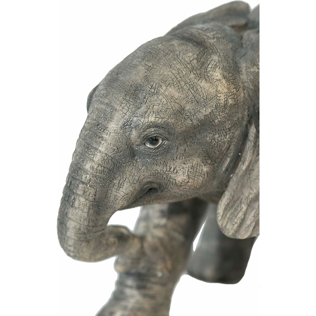 Home affaire Spardose »Elefant laufend, Breite ca. 25cm , Höhe ca. 17cm«