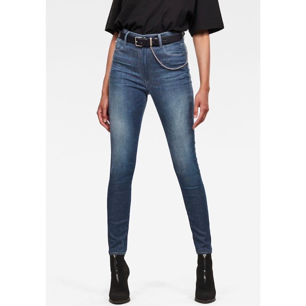 G-Star RAW Skinny-fit-Jeans »Kafey Ultra High Skinny Jeans«, 5-Pocket-Design mit Ultrahohen Bund