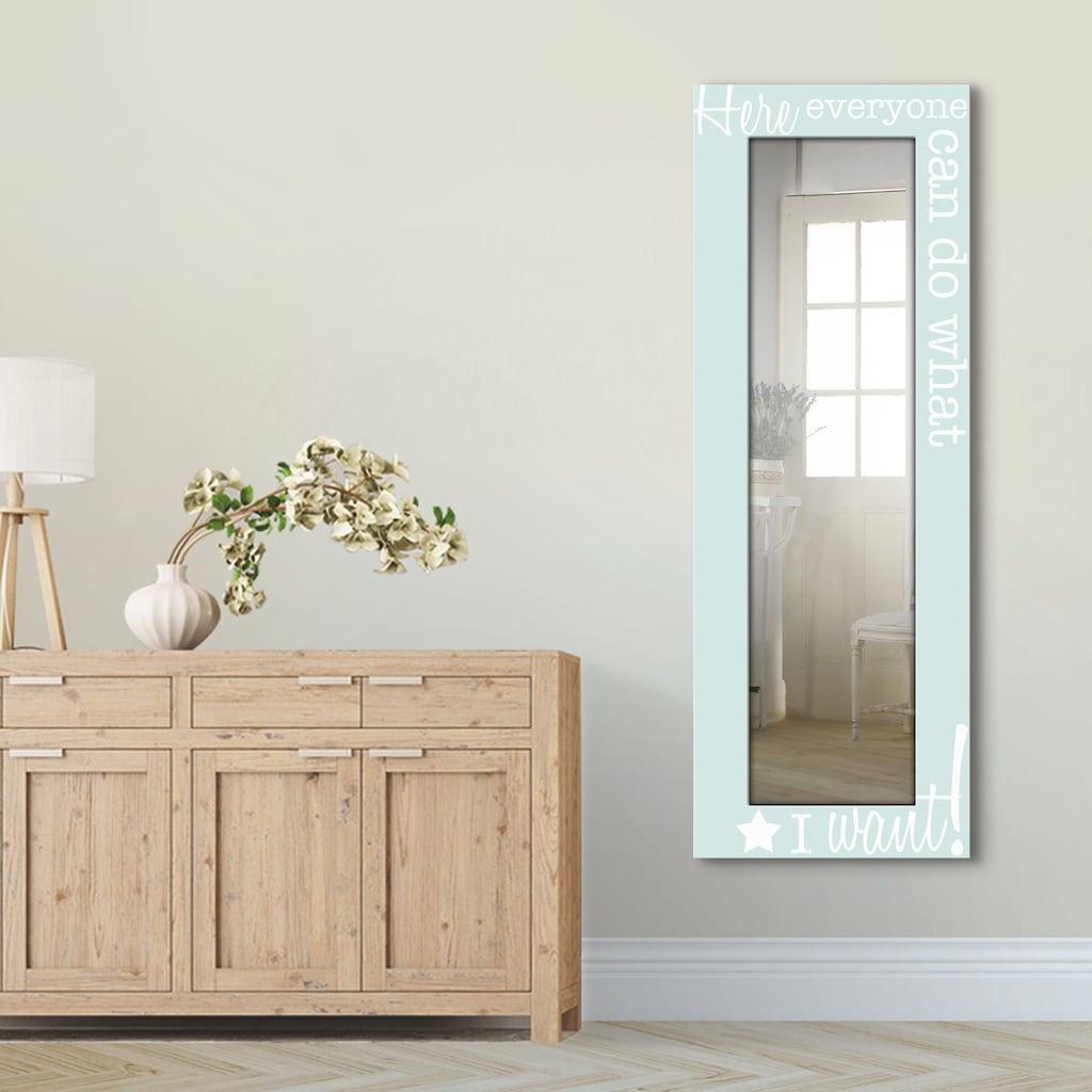 Artland Wandspiegel »Jeder macht das, was ich möchte«