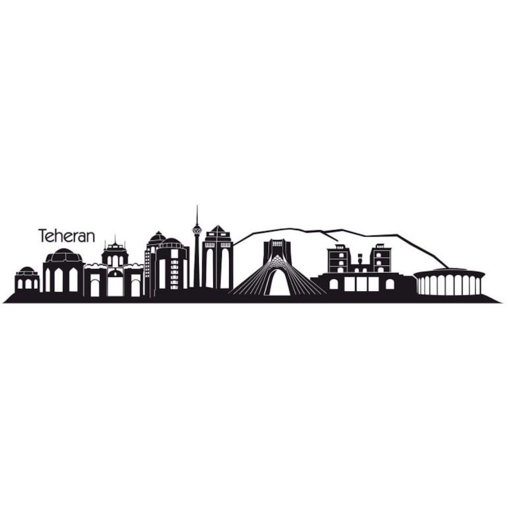 Wall-Art Wandtattoo »XXL Stadt Skyline Teheran 120cm«