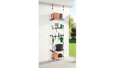 Ruco Teleskopregal, Aluminium, für Gartenutensilien kaufen